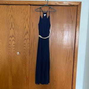 Bisou Bisou Navy Gown